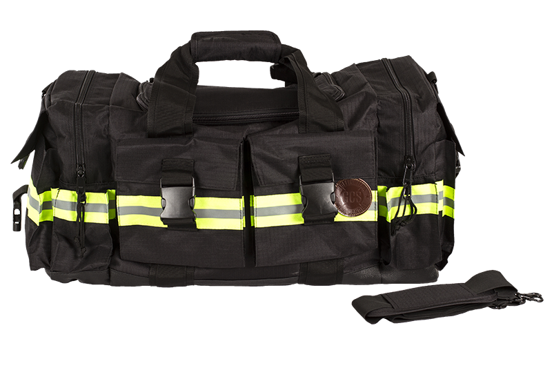 GCS Firefighters Merchandise Duffle Bag Black