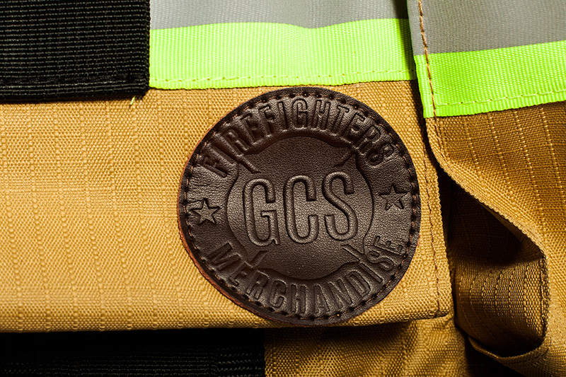 GCS firefighters merchandise Leather patch
