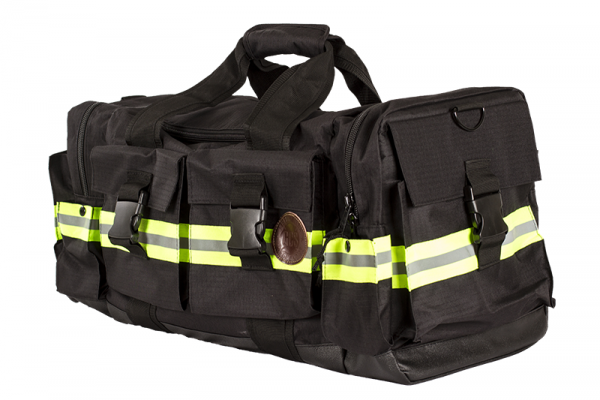 GCS Firefighters Merchandise Duffle Bag Black