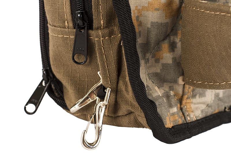 GCS Firefighters Merchandise Sling Bag Detail