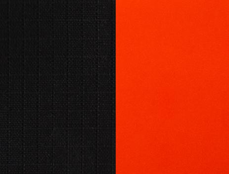 black-orange-solid
