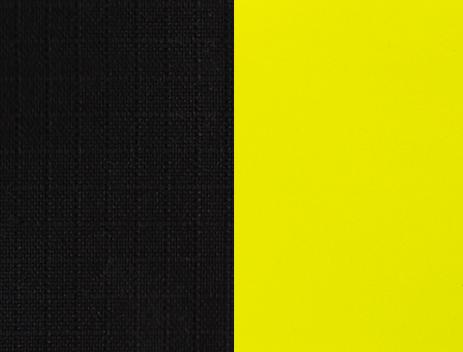 black-yellow-solid