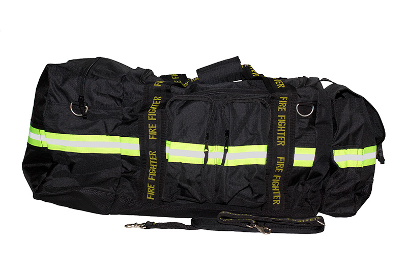 Firefighters Merchandise Fireflex Gear Bag in Black